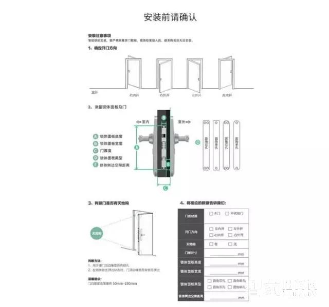 Ola SN微信指纹锁安装教程【内附视频】