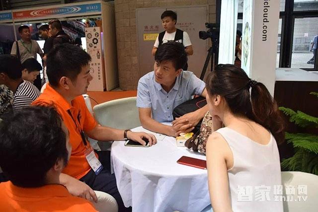 在上海国际智能家居展览会亿慧云产品是首屈一指