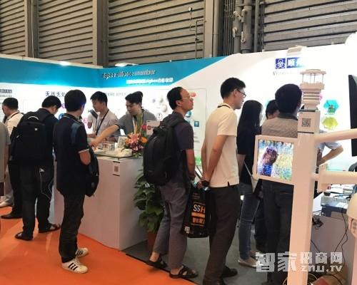顺舟智能精彩亮相2017上海国际智能家居展