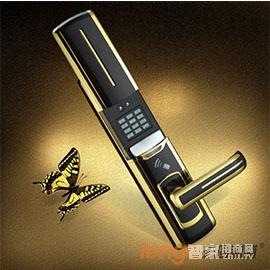 天固智能锁密码感应锁手指可360º旋转识别、人性化的语音操作提示TG8800P-GH