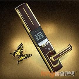 天固智能锁密码感应锁手指可360º旋转识别、人性化的语音操作提示TG8800P-GW