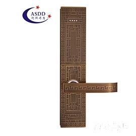 阿斯丹盾智能家居指纹密码锁超B级360度空转叶片锁芯、全程语音提示A1688