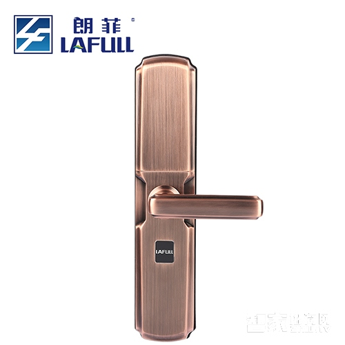 朗菲智能锁指纹锁密码锁磁卡锁不锈钢材质三色可选LF609