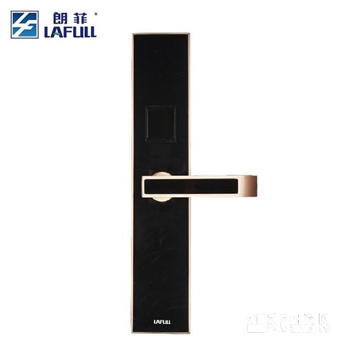 朗菲智能锁指纹锁密码锁磁卡锁锌合金材质直板三色可选LF09-1