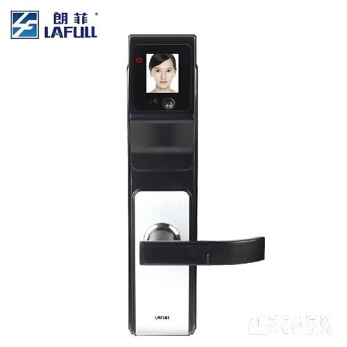 朗菲智能锁人脸识别锁密码锁磁卡锁锌合金材质三色可选LF618-1