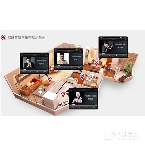 悠家智能影音家庭背景音乐系统UJ-04