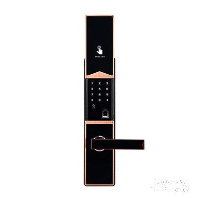 采虹科技智能锁指纹锁密码锁刷卡锁机械钥匙锁滑盖201