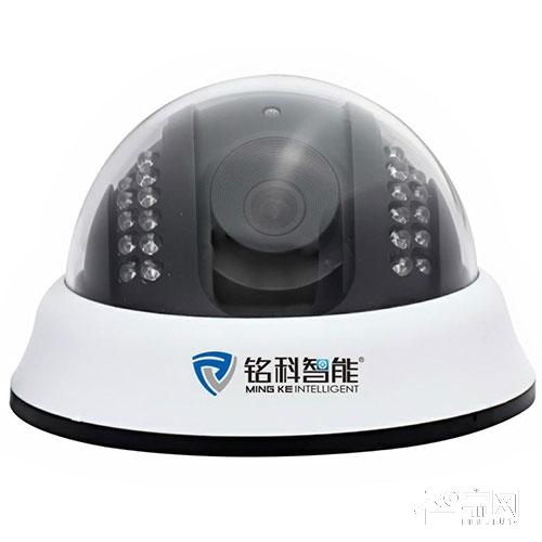 铭科智能安防夜视60米阵列双灯摄像机MK-S2070ER
