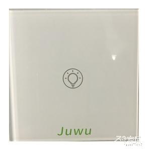巨屋物联智能家居无线玻璃智能开关JW-12