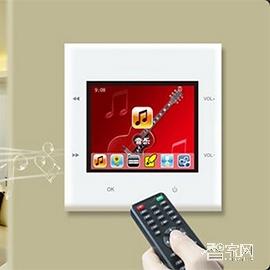 帮庭智能多房间背景音乐系统墙壁式安装BT-03