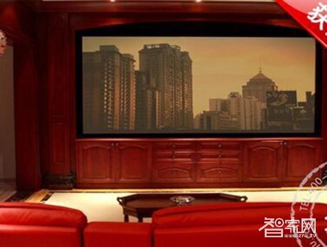 智悦顶级私人影院装修设计案例能体现出电影院的感觉背景图四