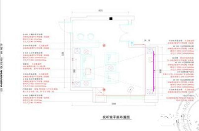 智悦顶级私人影院装修设计案例简单又便捷背景图四