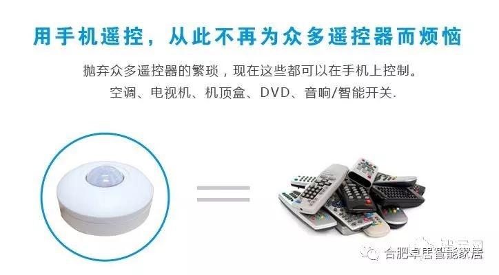合肥家电控制系统是什么?智能家居可以实现的手机远程控制