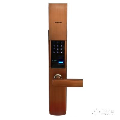 扬子智能锁红古铜手机APP智能指纹锁YZ-AH-8