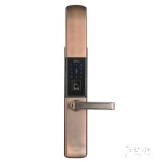 安居邦遥控版滑盖智能指纹密码锁AJB-807