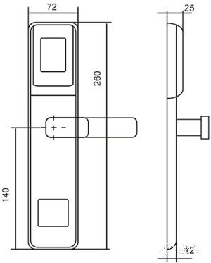 感应锁EW216H-SS(不锈钢丝色)外形尺寸图-1.jpg