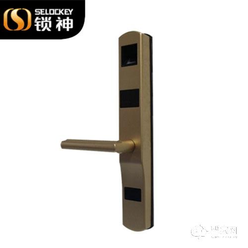 锁神智能锁断桥铝指纹锁 电子锁 防盗门锁 玻璃门锁FL11