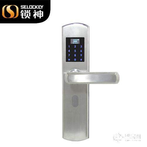 锁神智能锁刷卡锁密码锁 工程锁FL27