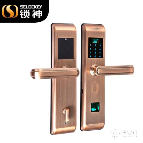 锁神智能锁全不锈钢智能锁 密码锁FL23