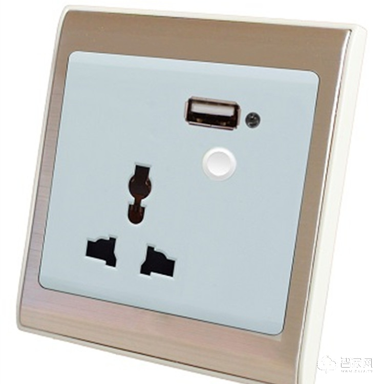 ete贝诺特智能家居智能墙面插座 手机远程控制插座 防儿童误插SC02