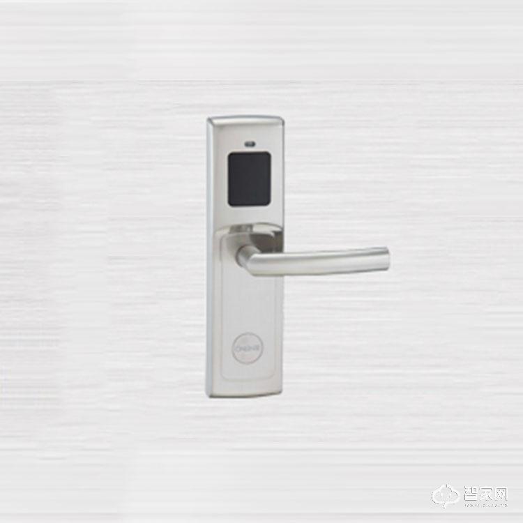 奥尔良智能锁智能酒店门锁 不锈钢防火锁芯电子感应锁8209