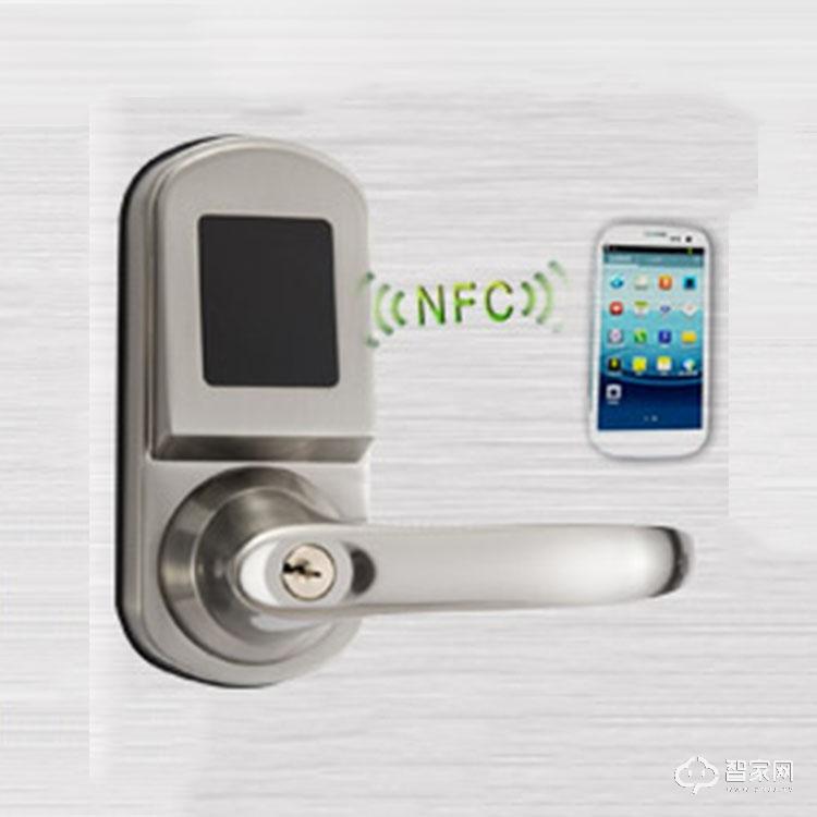 奥尔良智能锁公寓入户门智能电子刷卡锁 手机开锁智能电子锁S200NFC