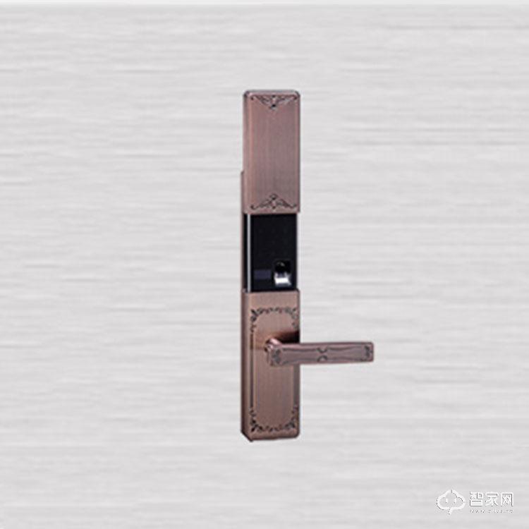 奥尔良智能锁虚位防盗智能指纹密码锁 手机APP开锁滑盖密码锁S900