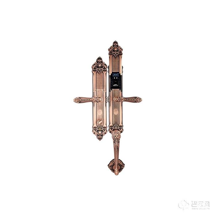 诚尔鑫智能锁滑盖智能指纹锁 别墅防盗指纹锁CEX-R4