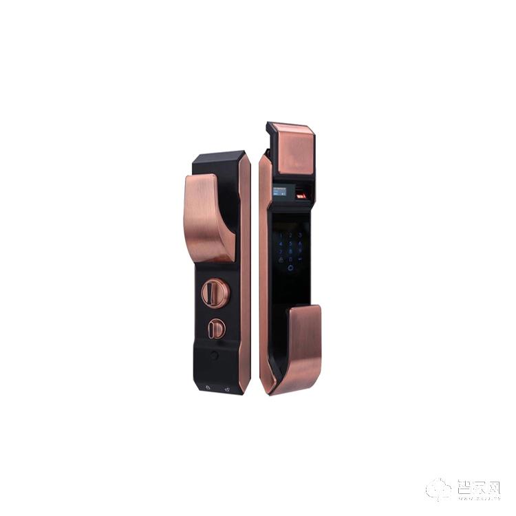 诚尔鑫智能锁滑盖指纹密码锁 智能家用防盗智能指纹锁CEX-R7
