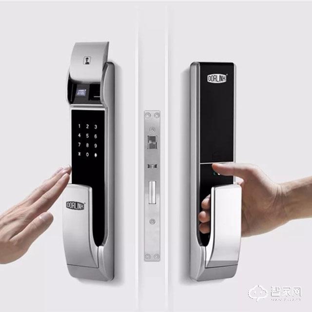 Dorlink多灵全自动智能门锁 支持苹果HomeKit平台 推拉式把手P8