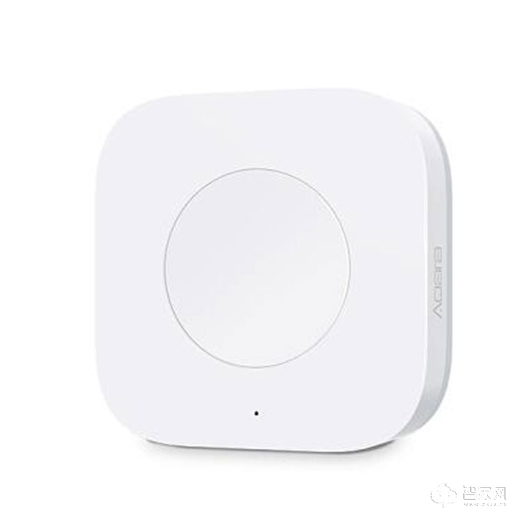 Aqara智能家居免布线免安装单控双控多控门铃开关 智能无WXKG12LM