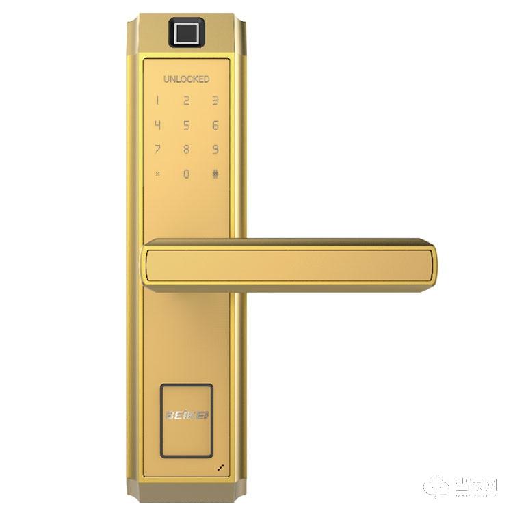 贝可智能锁房间门指纹智能锁 室内防盗智能门锁50101