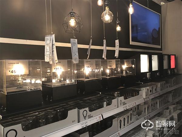 宜家四元桥店内部分灯泡展示图,含智能光源.jpg
