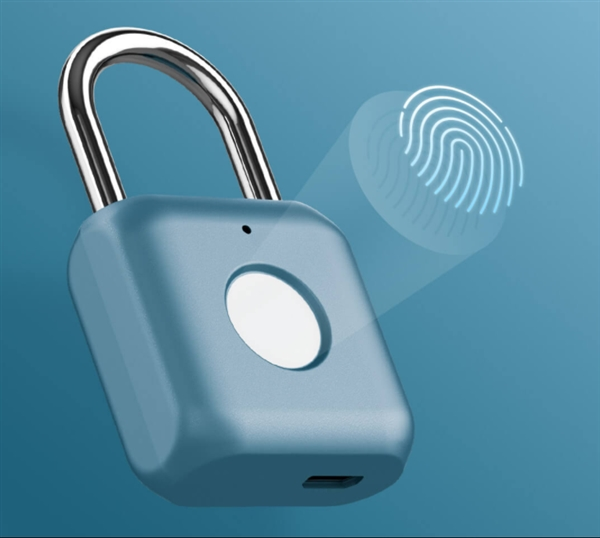 优点挂锁上架小米有品商城:挂锁也能加指纹识别