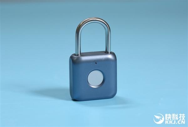 优点智能指纹挂锁图赏:老家的门锁该换了