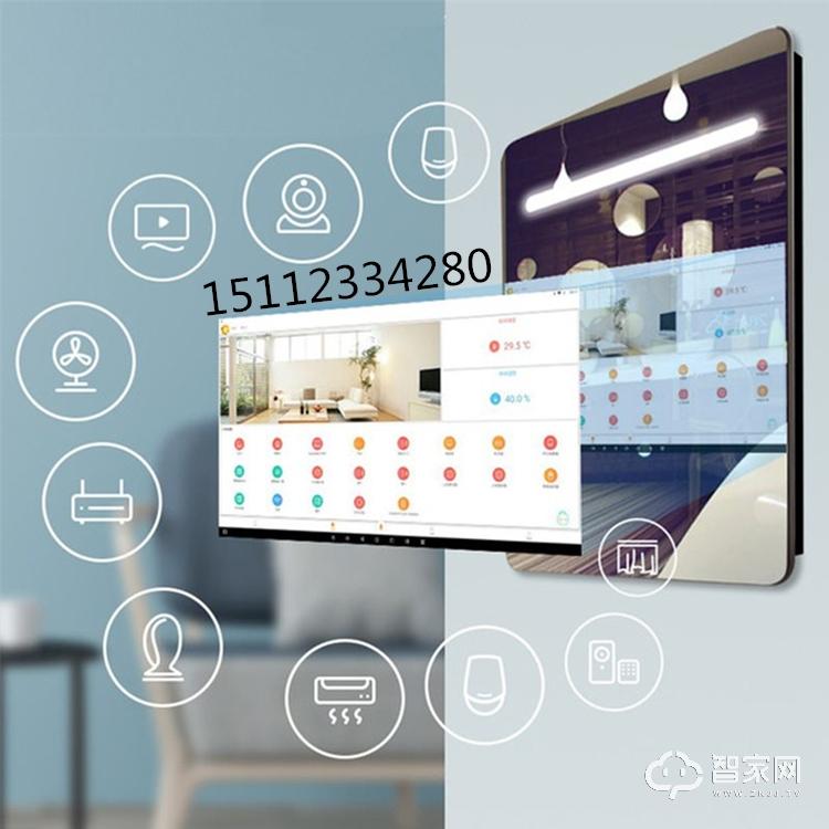 多功能卫浴镜查询一体机智能魔镜显示屏镜面广告机车站卫生间广告机