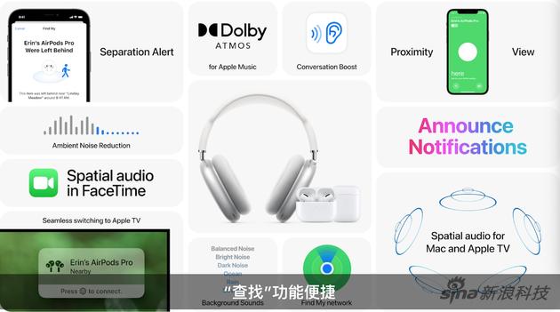 iOS 15带AirPods耳机一同飞