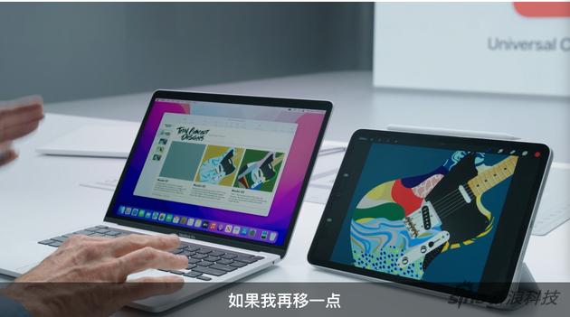 iPad和MacBook、通了